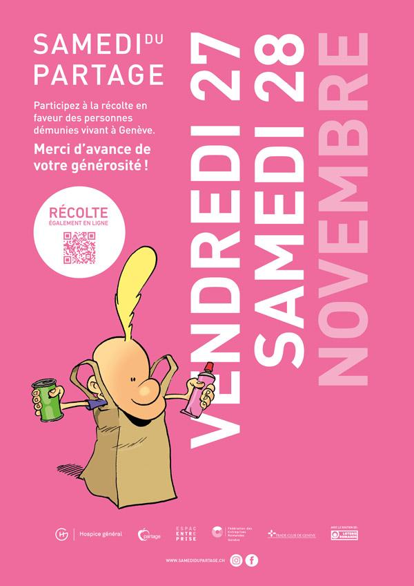 Cette semaine, la Mini-Fève participe au SAMEDI DU PARTAGE! -copie